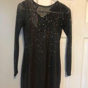 A little Black sparkling dress